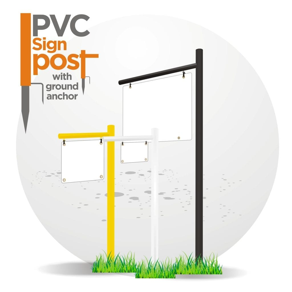 PVC POST SIGNS