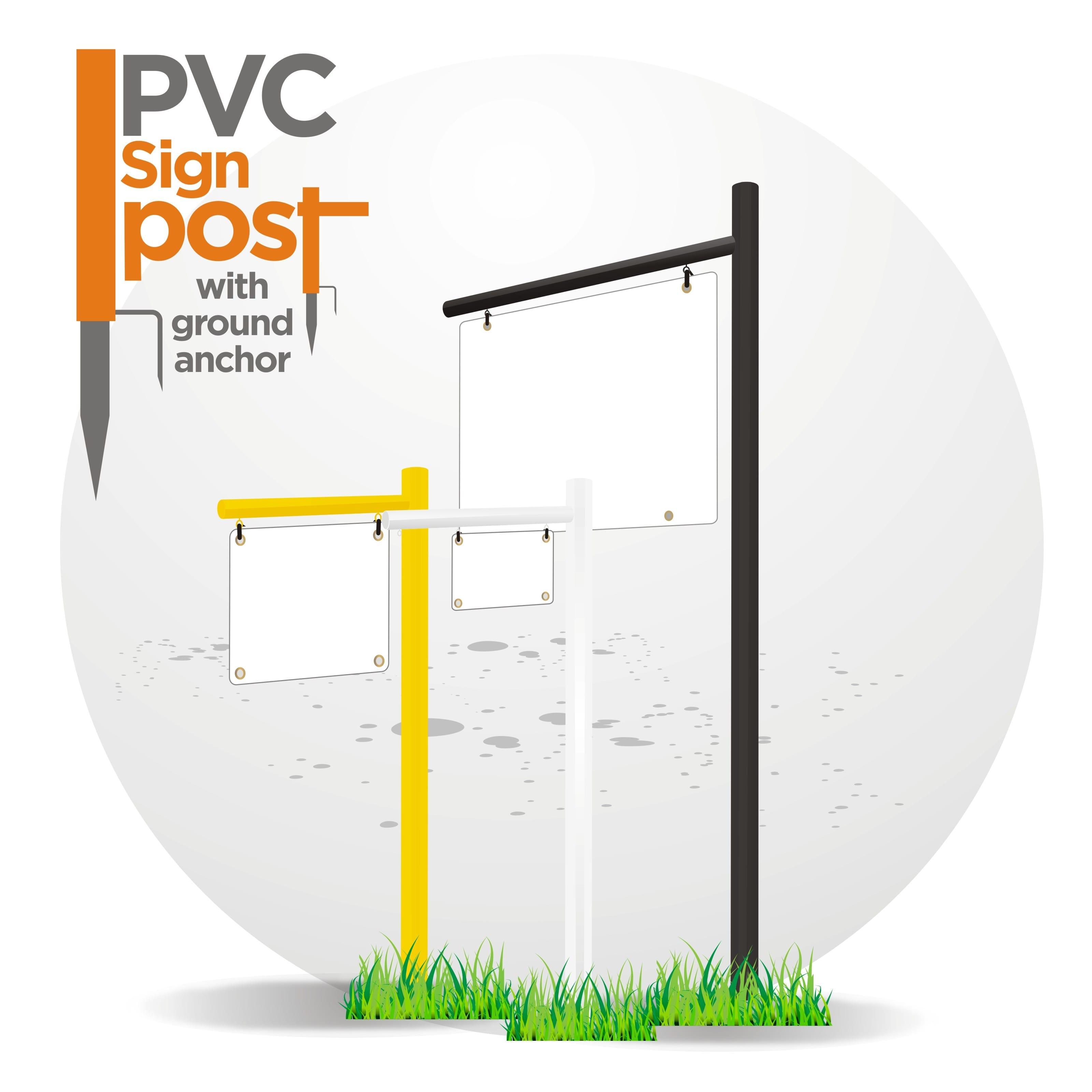 PVC POST SIGNS